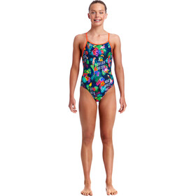 Funkita Diamond Back One Piece Badpak Kinderen bont